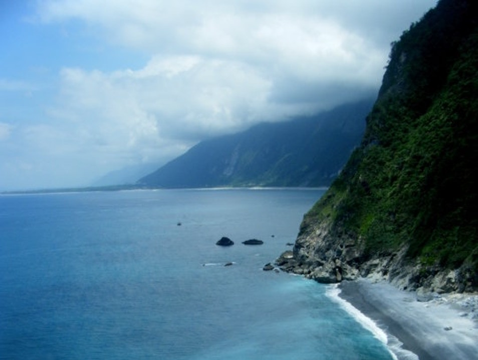 Captivated by the Cliffs of Cingshui Xiulin Township  Taiwan