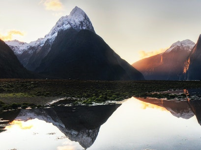 Mitre Peak Fiordland National Park  New Zealand