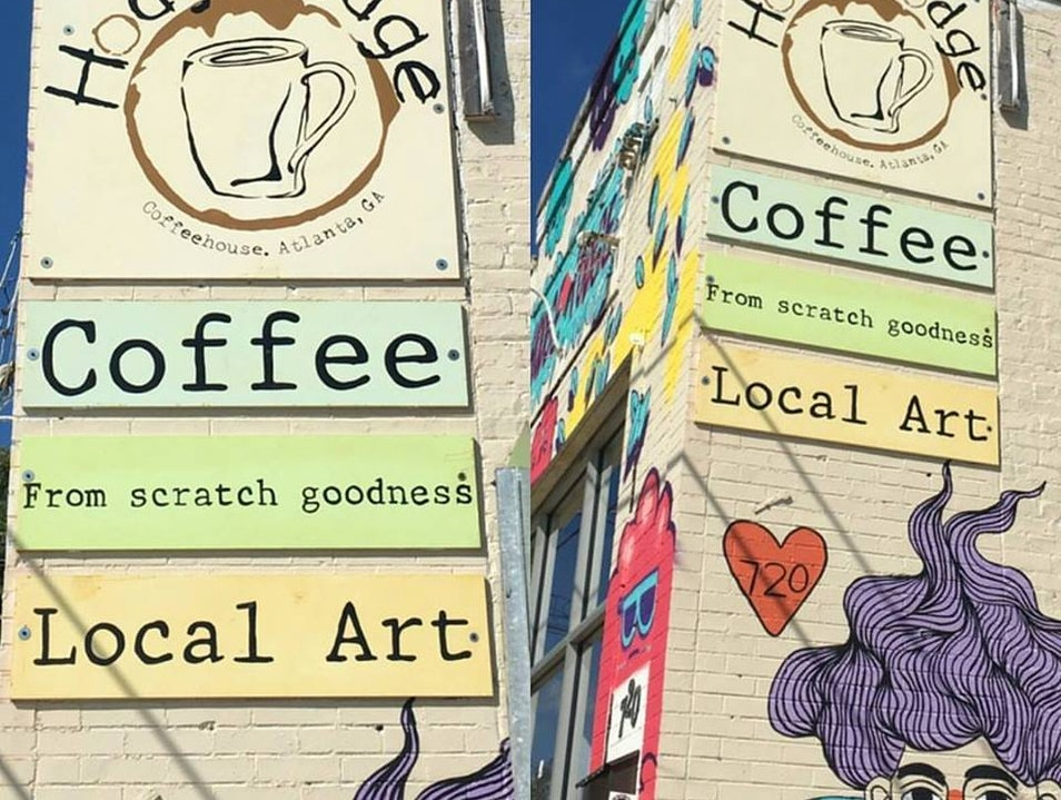 Coffee and Creativity at Hodgepodge Coffeehouse & Gallery