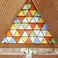 Cardboard Cathedral Christchurch  New Zealand