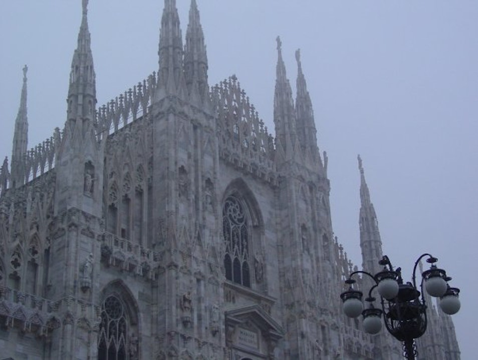Top of the Duomo Milano Milan  Italy