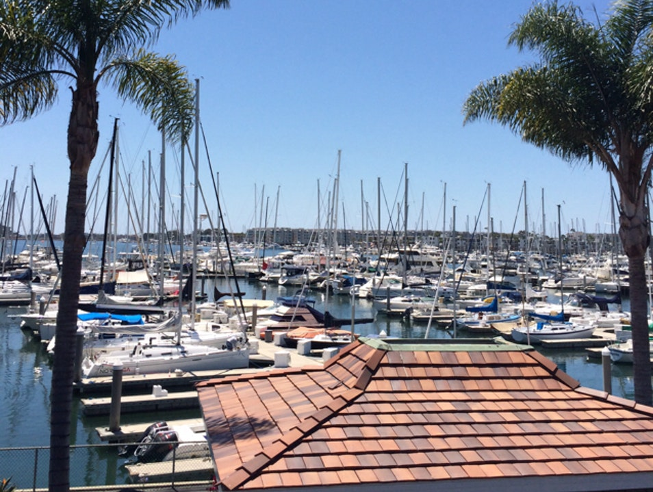 Lunch with a View: Marina Del Rey Marina Del Rey California United States