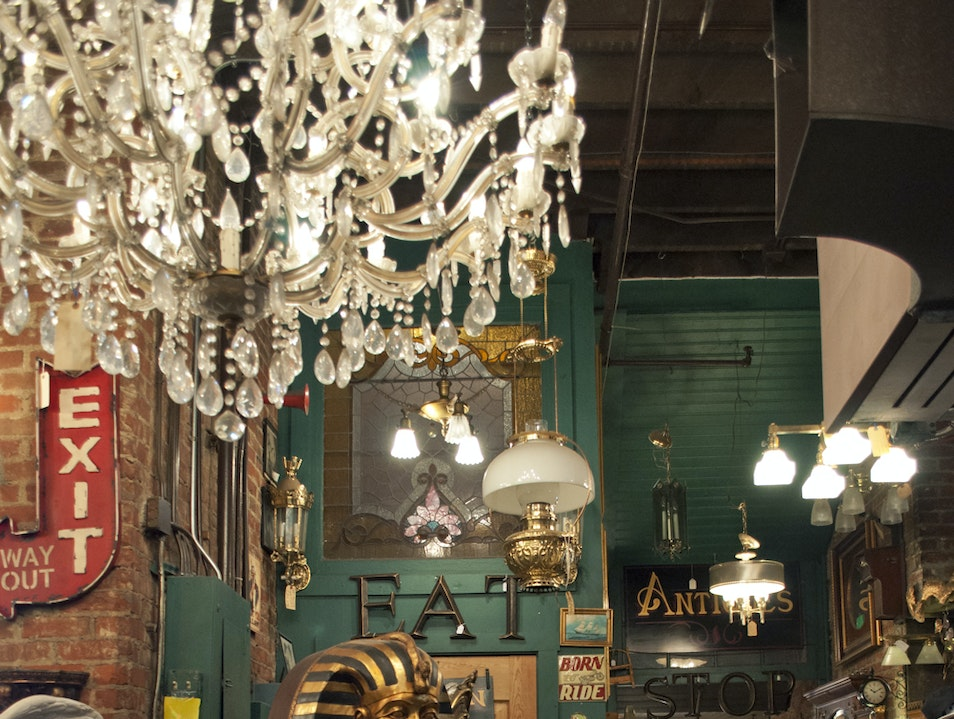 Browse the Weird and Wonderful at Joe Ley Antiques Louisville Kentucky United States