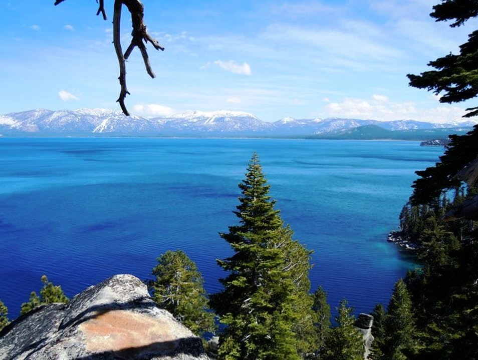 D. L. Bliss State Park Lake Tahoe California United States
