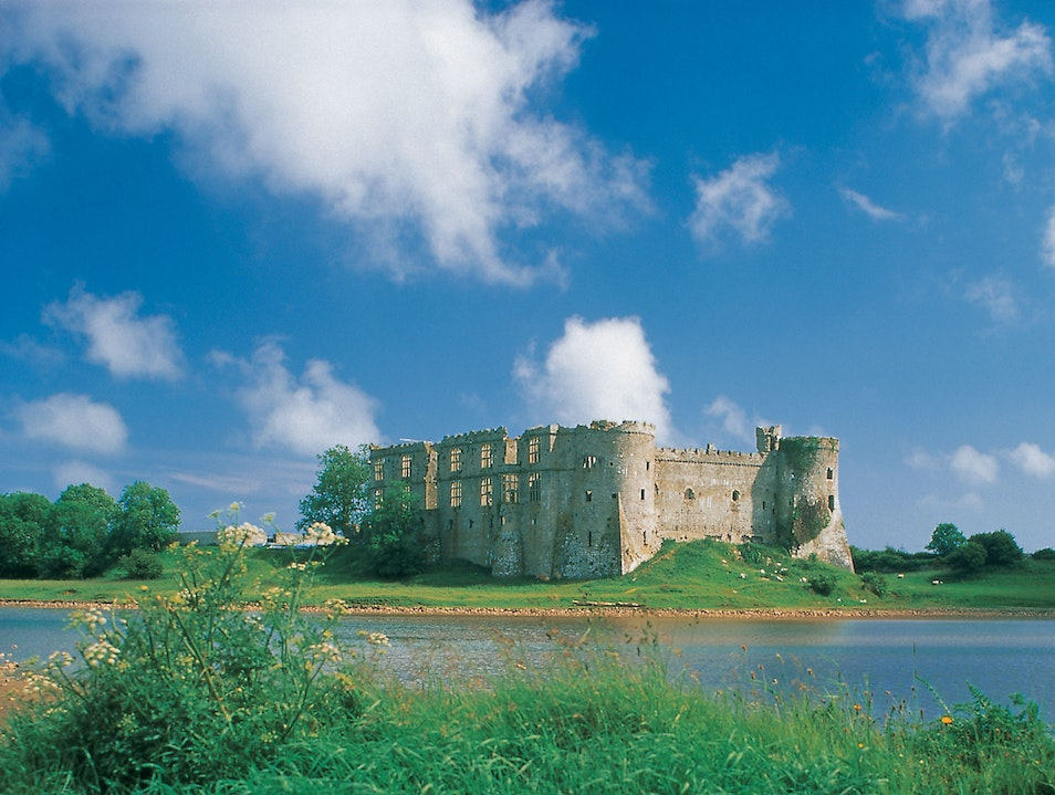 Carew Castle and Tidal Mill