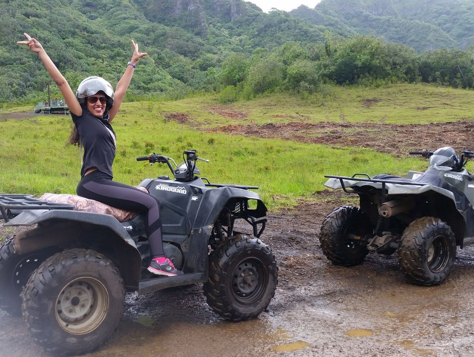 ATV Tour through some of Hawaii's beautiful mountains
