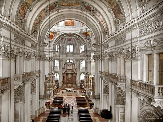 Salzburg's Cathdral District