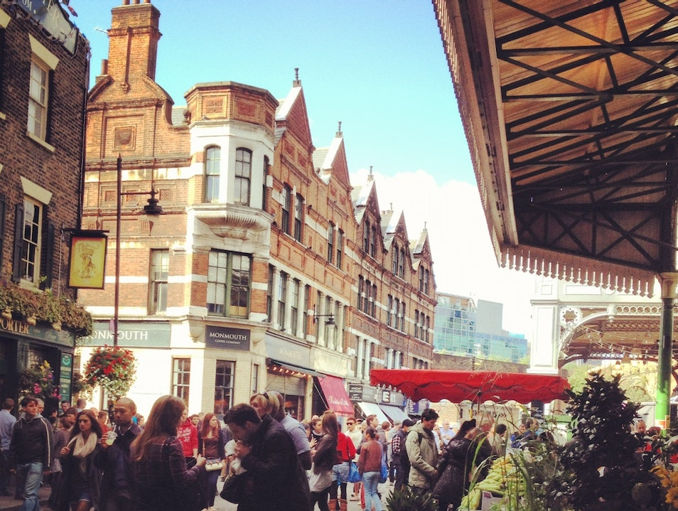 There's Always an Excuse for Borough Market