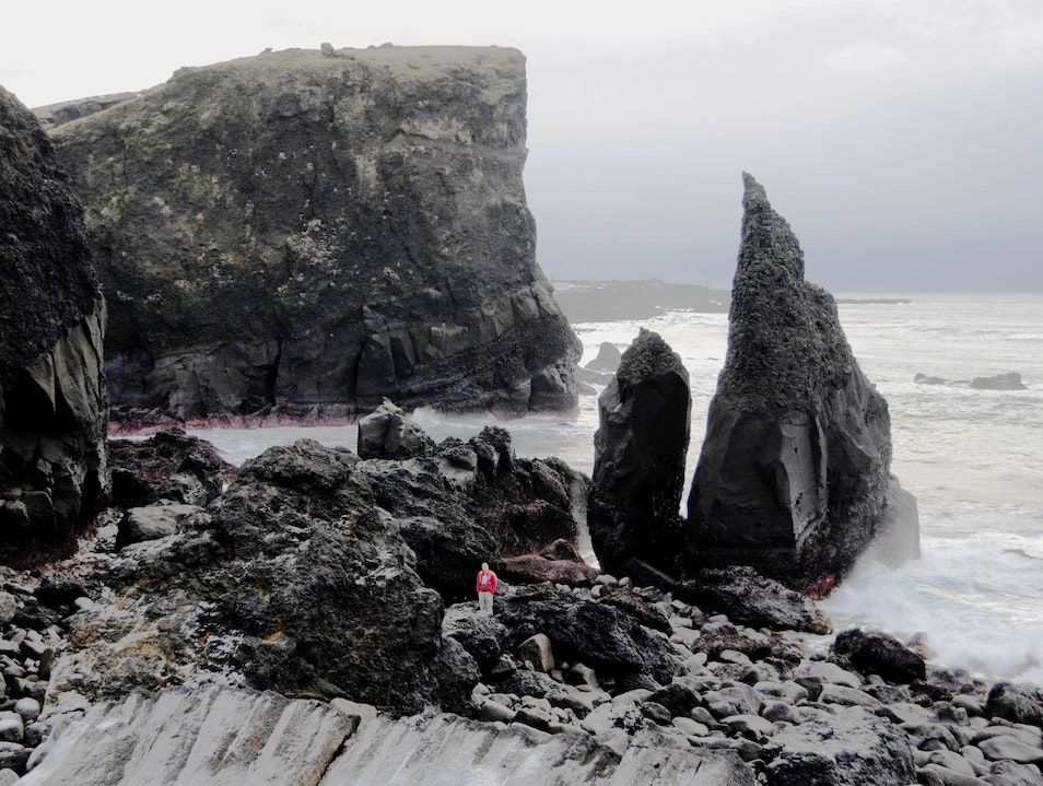 The Impressive But Not-Easy-To-Pronounce Valahnjukur Rock Formations Reykjavik  Iceland