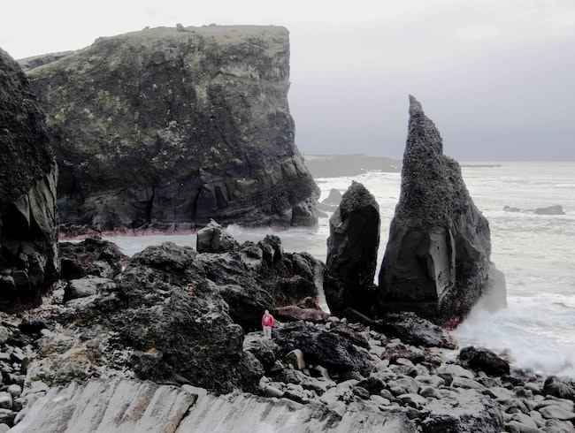The Impressive But Not-Easy-To-Pronounce Valahnjukur Rock Formations
