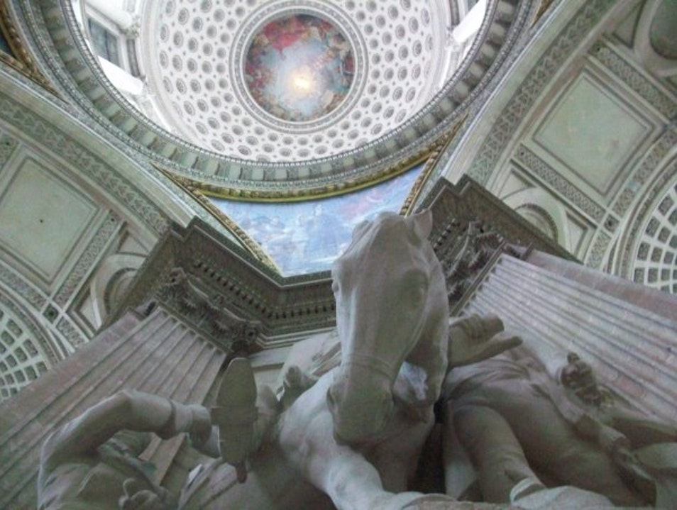 Looking Skyward at the Pantheon