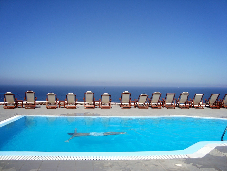 Lioyerma Pool Lounge Oia  Greece