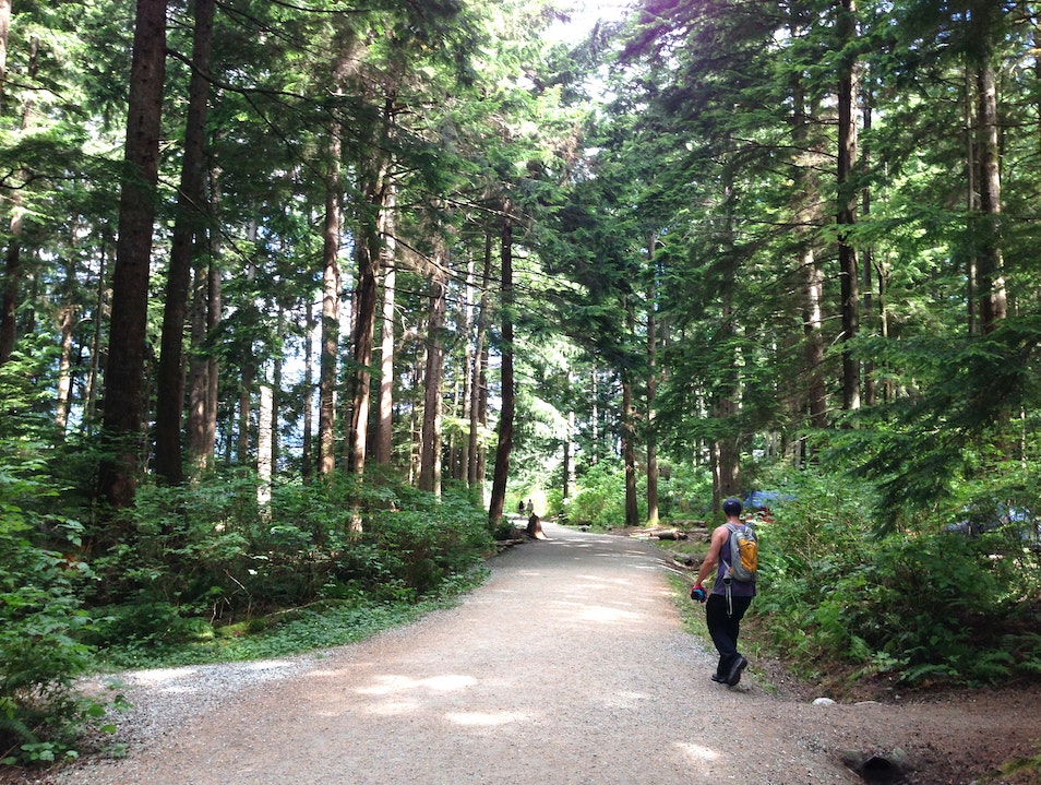 Family Hike Whistler  Canada