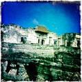 Mayan Archaeological Site Quintana Roo  Mexico