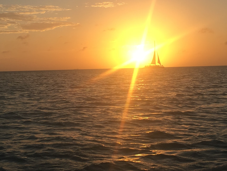 Set Sail with a Sunset Catamaran Tour Noord  Aruba