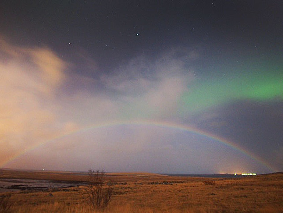 The Northern Lights and Rainbows