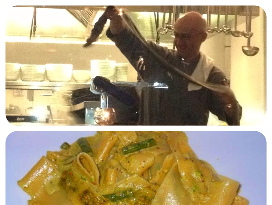 Homemade Sicilian Pasta In NYC Flatiron Area New York New York United States