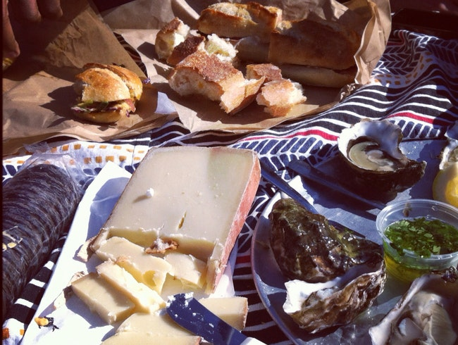 Oysters and more on Tomales Bay