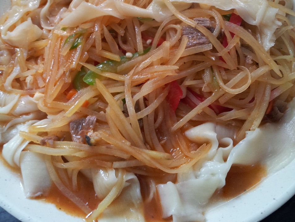 Heaven Is Hand-Pulled Noodles Made Fresh for You