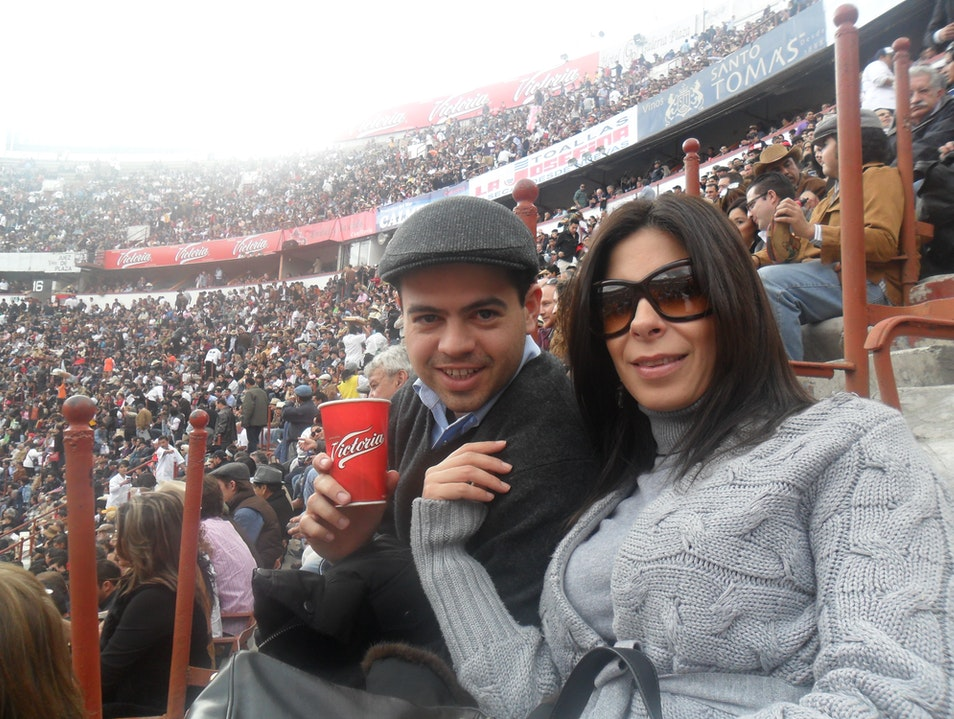 Anniversary Bullfight Mexico City  Mexico