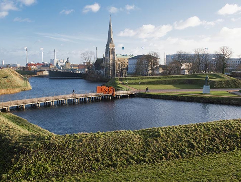 Kastellet and the Little Mermaid Vordingborg  Denmark