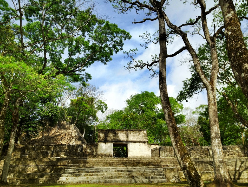 Explore the Ruins at Cahal Pech San Ignacio  Belize
