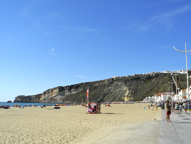 The Sitio at Nazare, Portugal