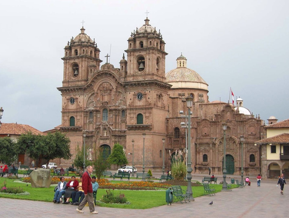 Heart of the City Cusco  Peru