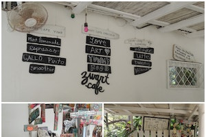 Zwart Art Cafe, Playa Santa Teresa, Costa Rica