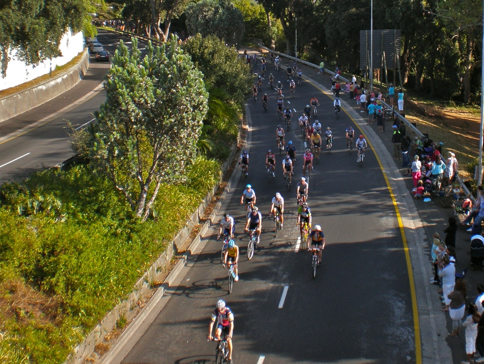 Cycling the Argus Cape Town  South Africa