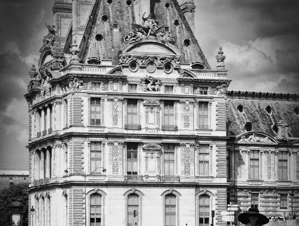Admire the Louvre Paris  France
