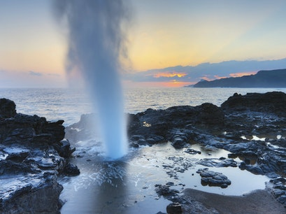 Nakalele Blowhole Wailuku Hawaii United States