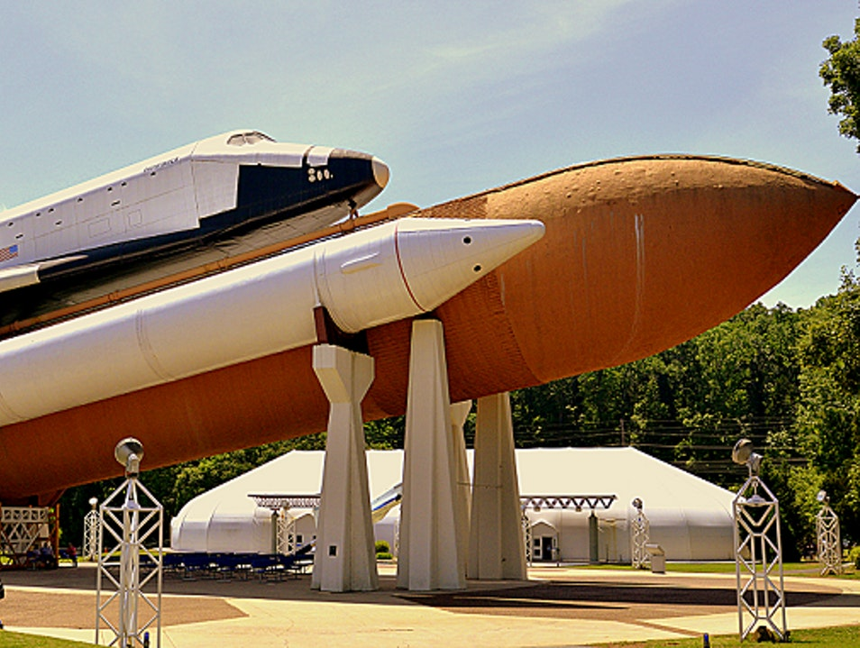 An out of this world family vacation Huntsville Alabama United States