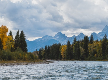Snake River Jackson Wyoming United States