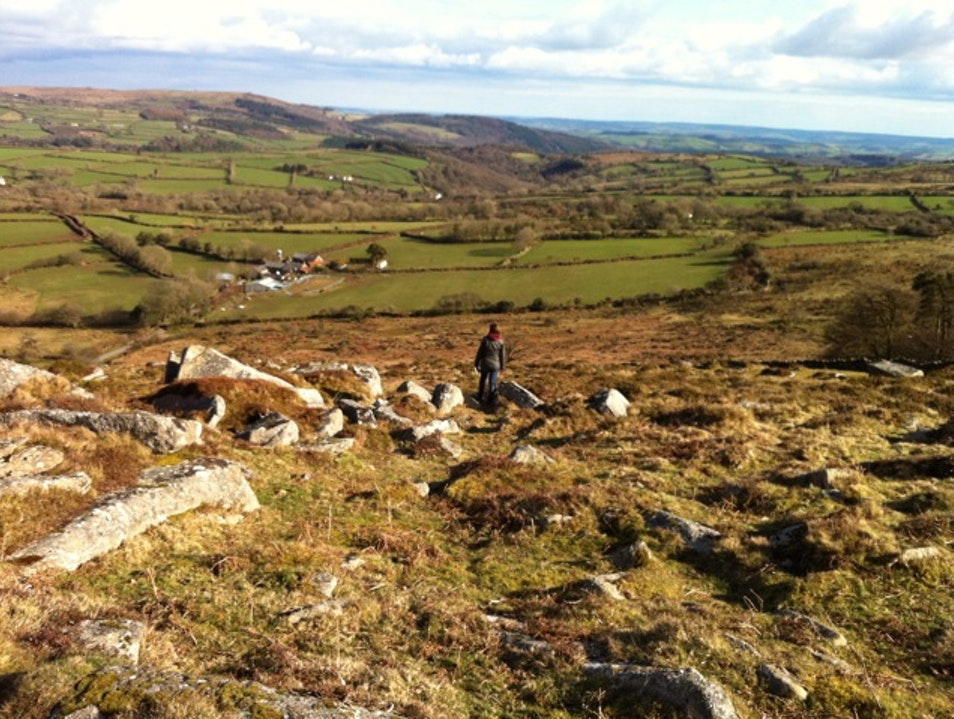Walk Dartmoor. Not all of it, obviously. Widecombe In The Moor  United Kingdom