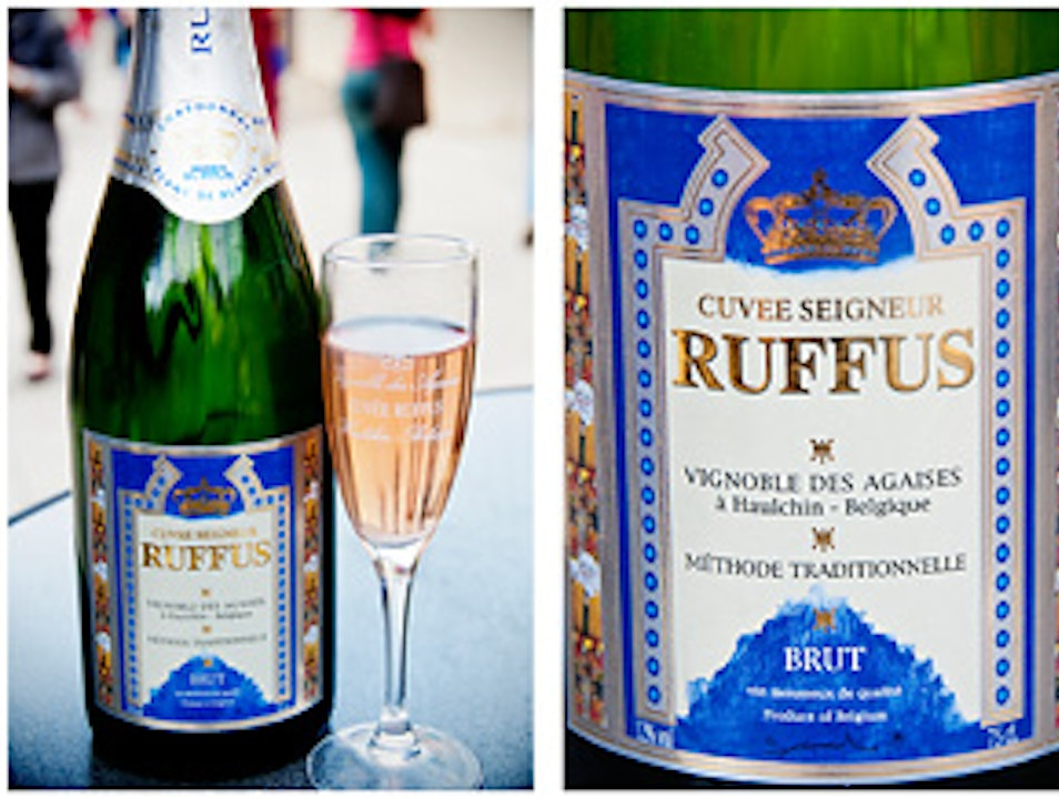 Sparkling Wine from Belgium - Cuvée Seigneur Ruffus
