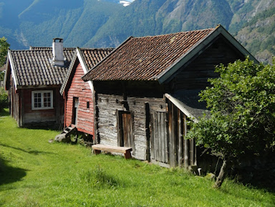 Norwegian Farm Houses  Aurland  Norway