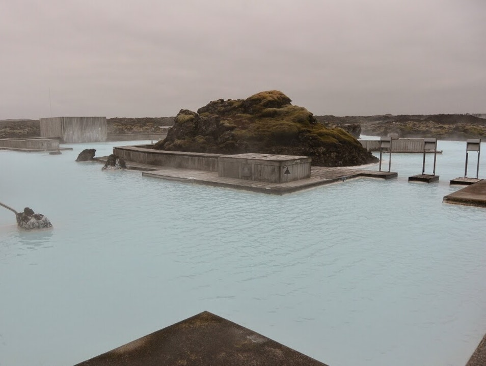 Relaxing in the Most Amazing Hot Spring Ever Southern Peninsula Region  Iceland