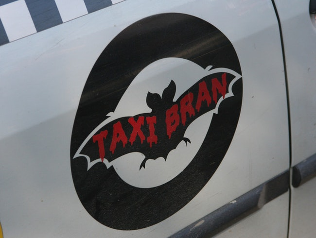 Batty taxis in Dracula's town