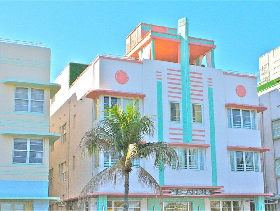 Art Deco Tour in Miami Beach Miami Beach Florida United States