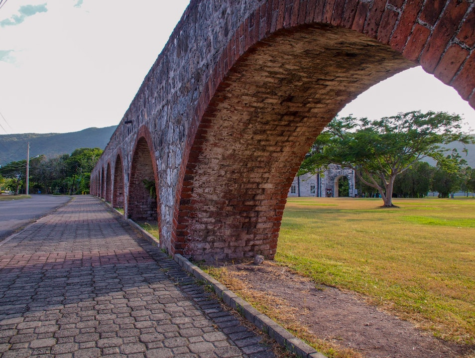 UWI Aqueducts Link to Jamaica's Past Kingston  Jamaica