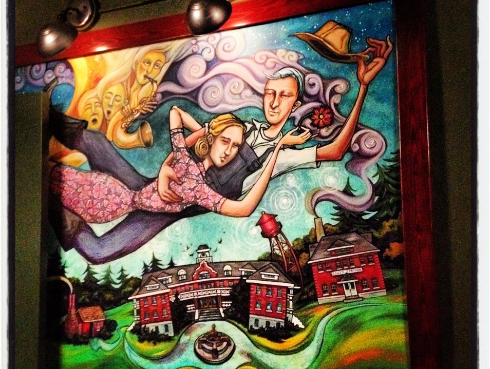 McMenamins Magic in Troutdale Troutdale Oregon United States