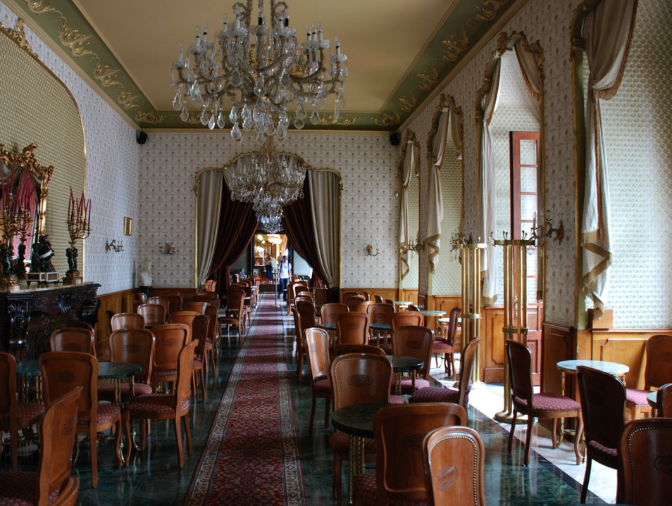 The Legendary Cafe Gerbaud Budapest  Hungary