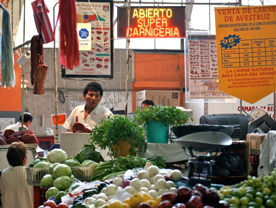 Shop among Chefs at Mercado San Juan  Mexico City  Mexico
