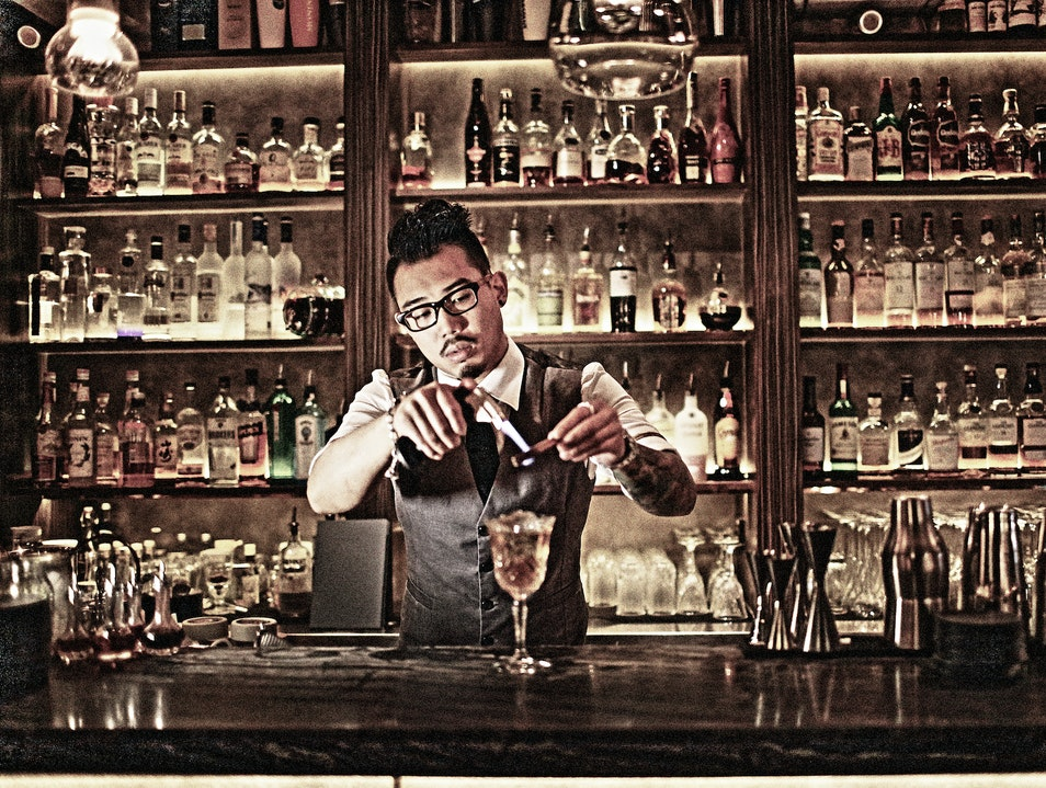 The Best Cocktail Bars in Hong Kong: Quinary Hong Kong  Hong Kong