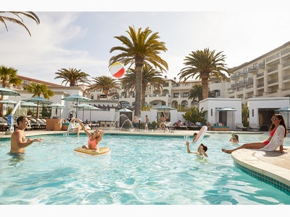 Time at the Pool Dana Point California United States