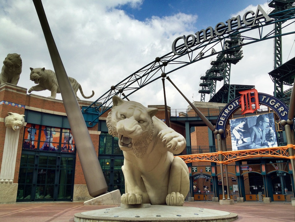 Enjoy a Baseball Game at the Home of the Tigers Detroit Michigan United States