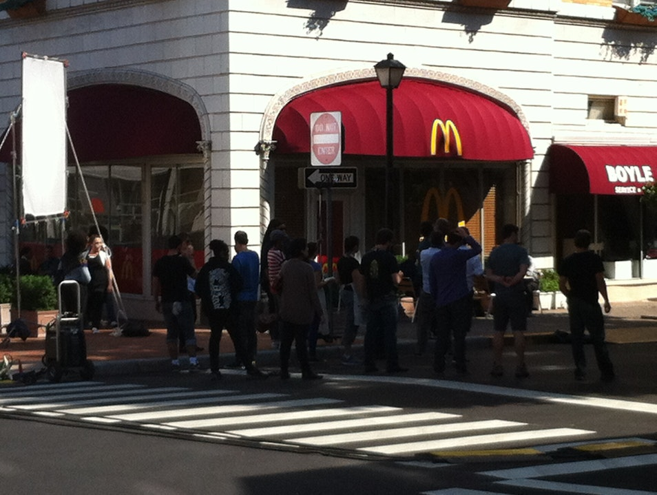 "The ""No, we don't really have a Micky D's!"" Moment Montclair New Jersey United States"