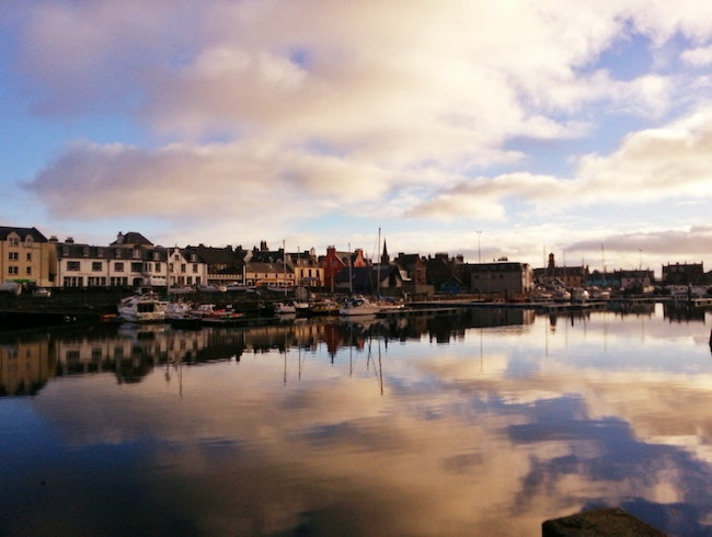 A Slow Stroll by Stornoway Harbour