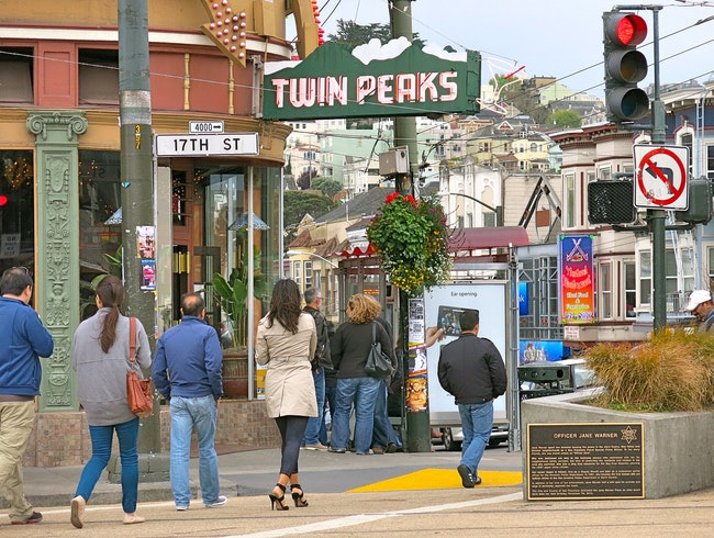 Have a Drink at a Classic Castro Bar Twin Peaks Tavern